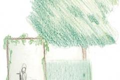 groene poort schets