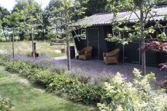 schuurtje veranda leilinde terras