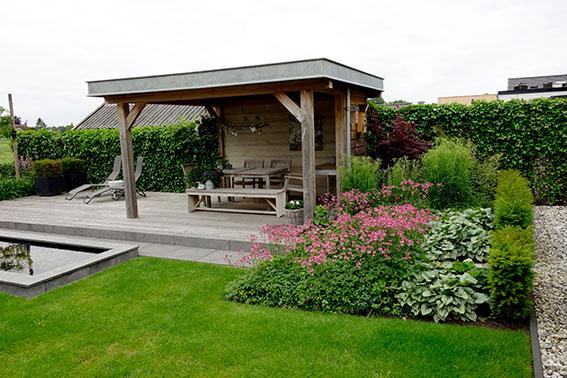 tuinhuisje-veranda-vijver