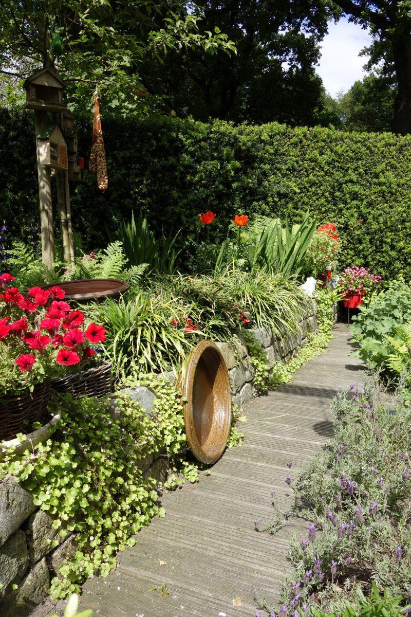 tuin rood vrolijk drenthe ©Groenerwaard