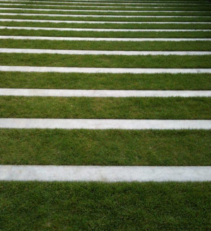pad gras stroken modern ©Groenerwaard