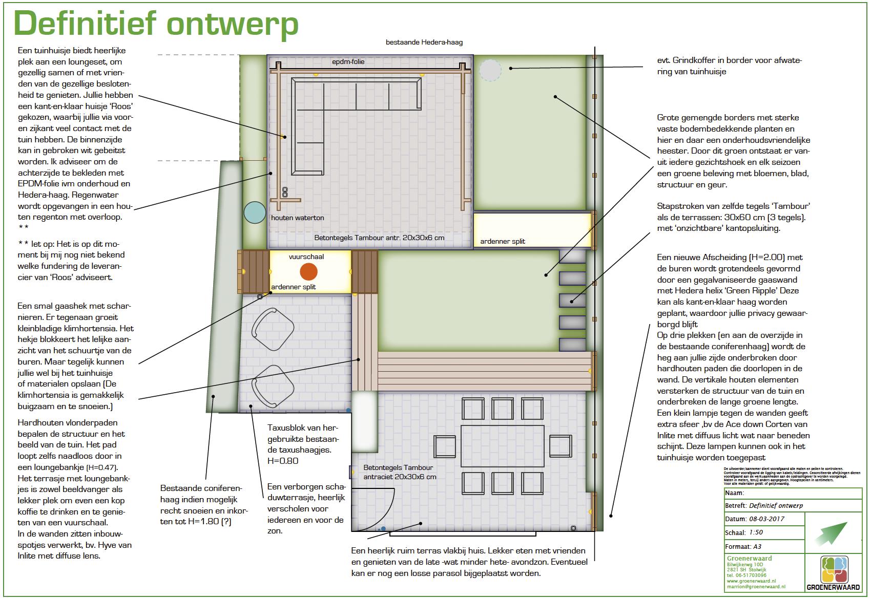 IJsselstein ontwerp achtertuin ©Groenerwaard