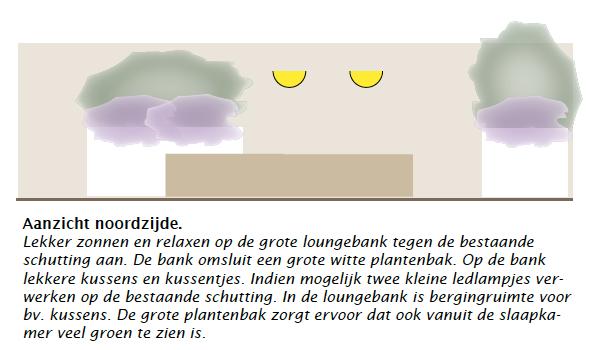 aanzicht dakterras ontwerp tuin daktuin ©Groenerwaard