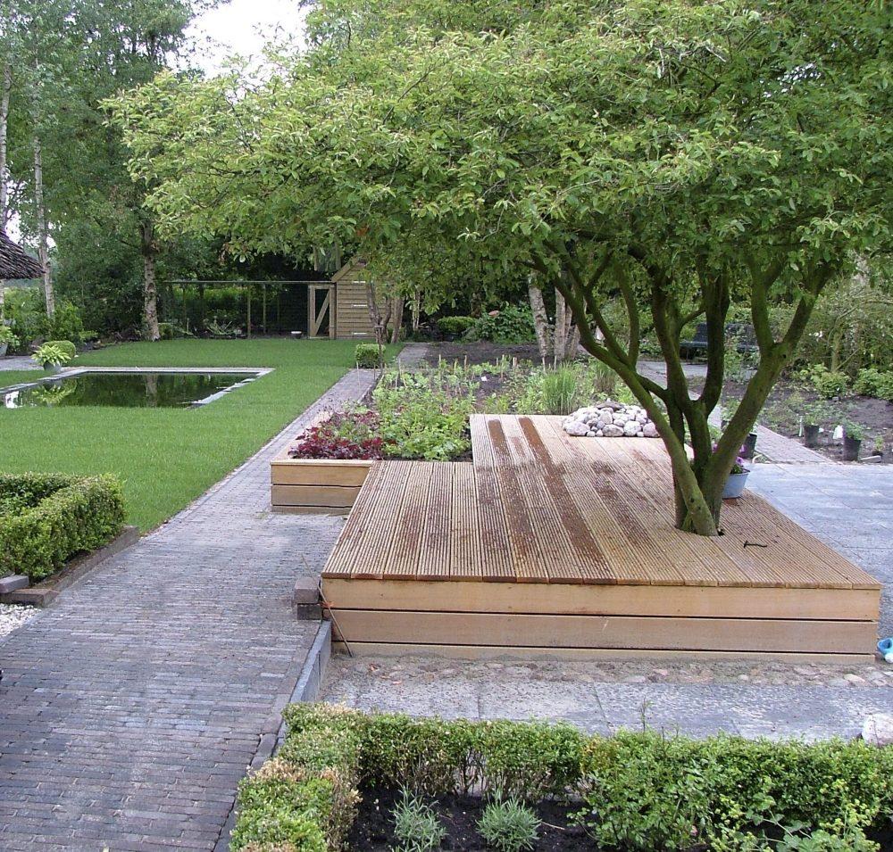 drenthe loungevlonder krentenboompje vijver ©Groenerwaard