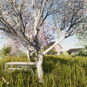 Genieten van het landelijke tuin leven in de polder ©Groenerwaard
