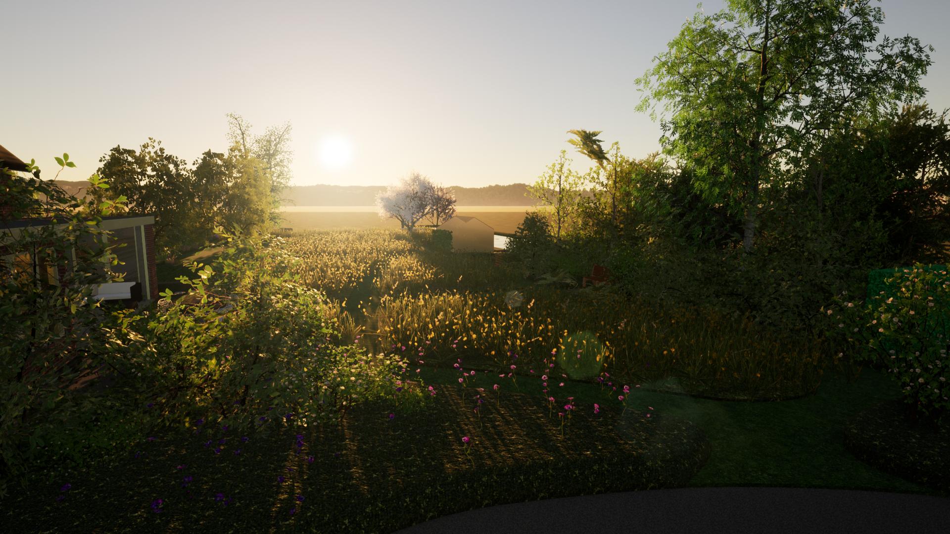 Genieten van de zonsopgang in de polder ©Groenerwaard